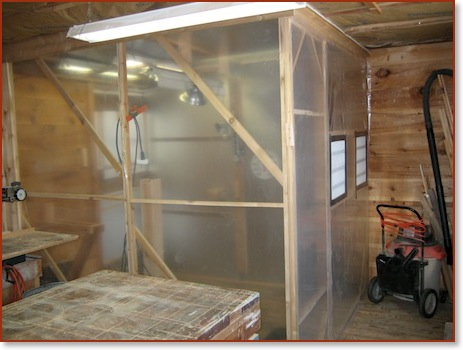 spray booth instrument